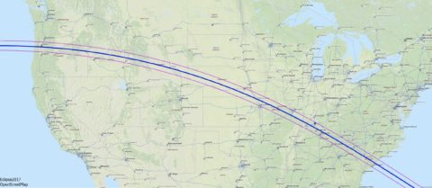 2017 eclipse path - 2017 eclipse map