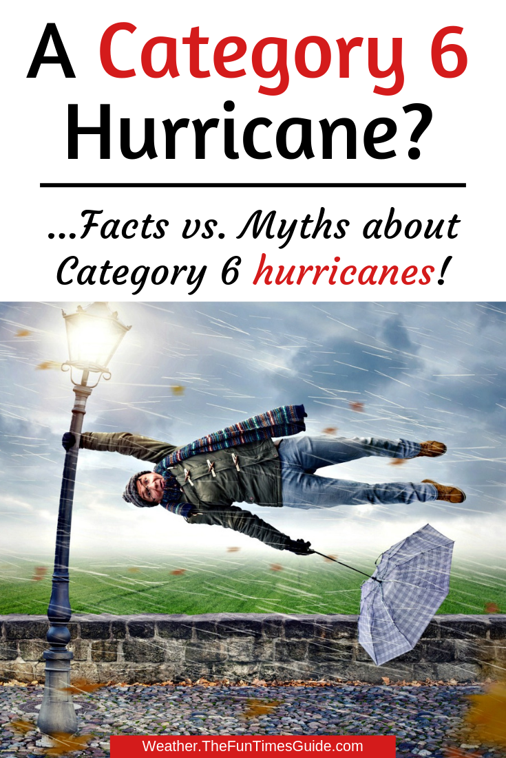 Category 6 Hurricanes: Facts vs. Myths (Hint... There\'s No Such Thing As A Category 6 Hurricane!)