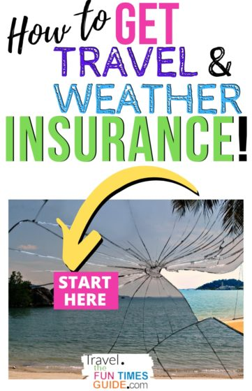 How to get travel weather insurance
