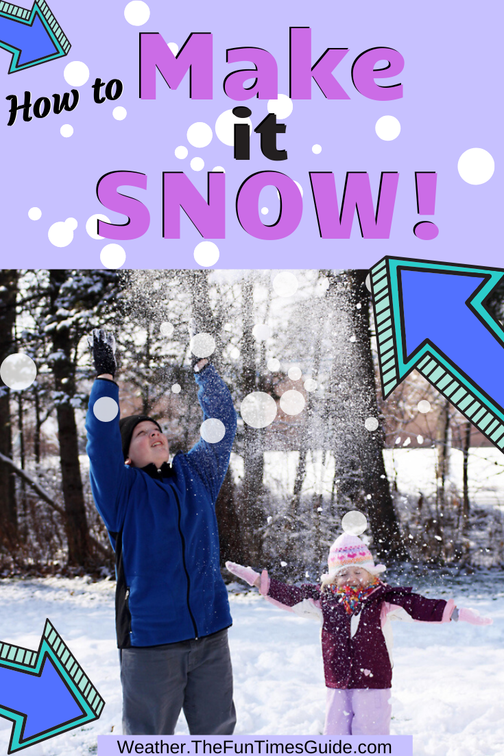 7 Tips & Tricks To Make It Snow (Have You Tried Any Of These?)
