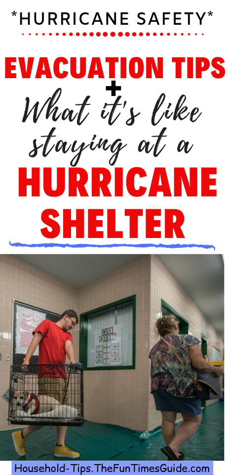 What It's Like Staying In A Hurricane Shelter + Tips For Staying At An Emergency Shelter vs. Staying At Home Instead Of Evacuating