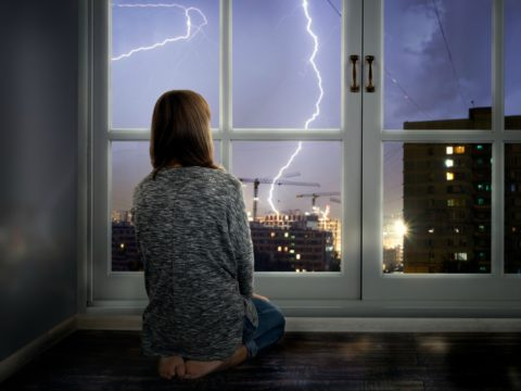 7 Lightning Facts... turns out you CAN get struck by lightning inside your house!
