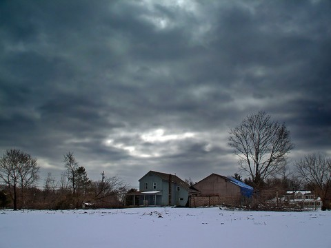 Stratus Snow Clouds
