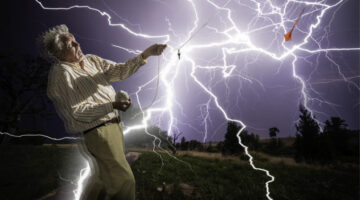 How To Avoid Getting Struck By Lightning Whether You're Inside Or Outdoors