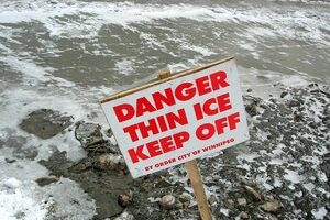 Ice Fishing In Early Spring Means Thin Ice… Don't Do It!