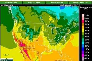 Weather Street: View The 3-Day Temperature Forecast All Across The U.S.