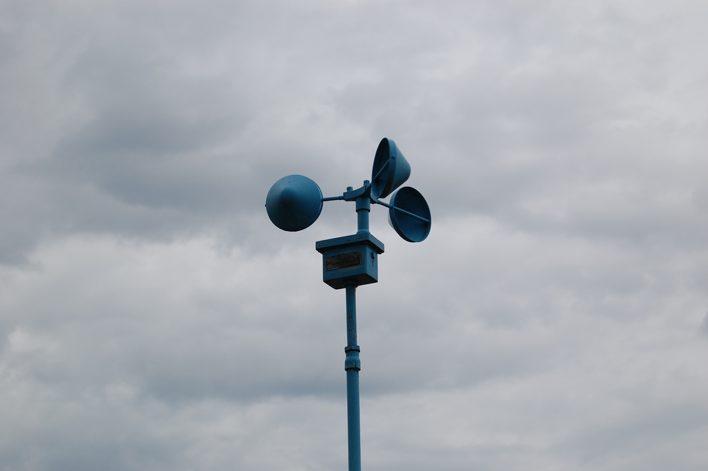 Using An Anemometer To Measure Wind Speed