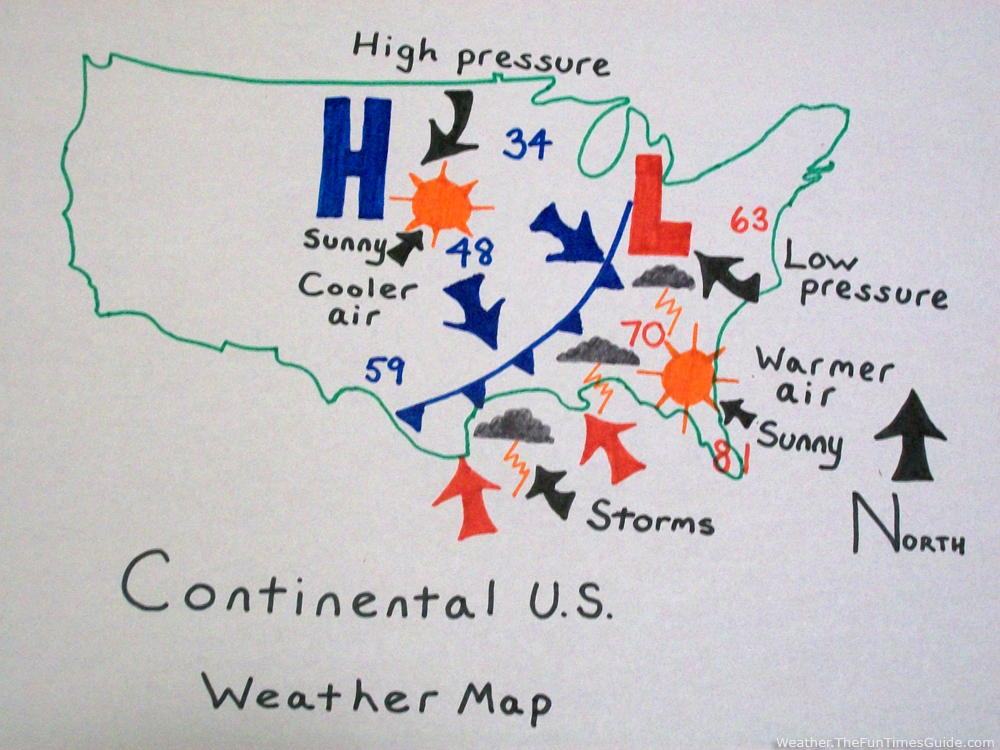 Cold Front Weather Map Jpg