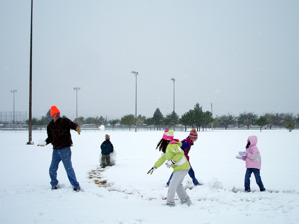 Fun things to do with kids in the snow times guide