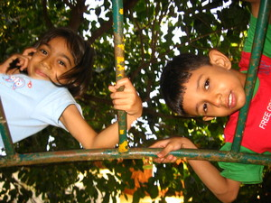 These kids are having a fun time in pleasant weather. Photo by soham pablo on Flickr.