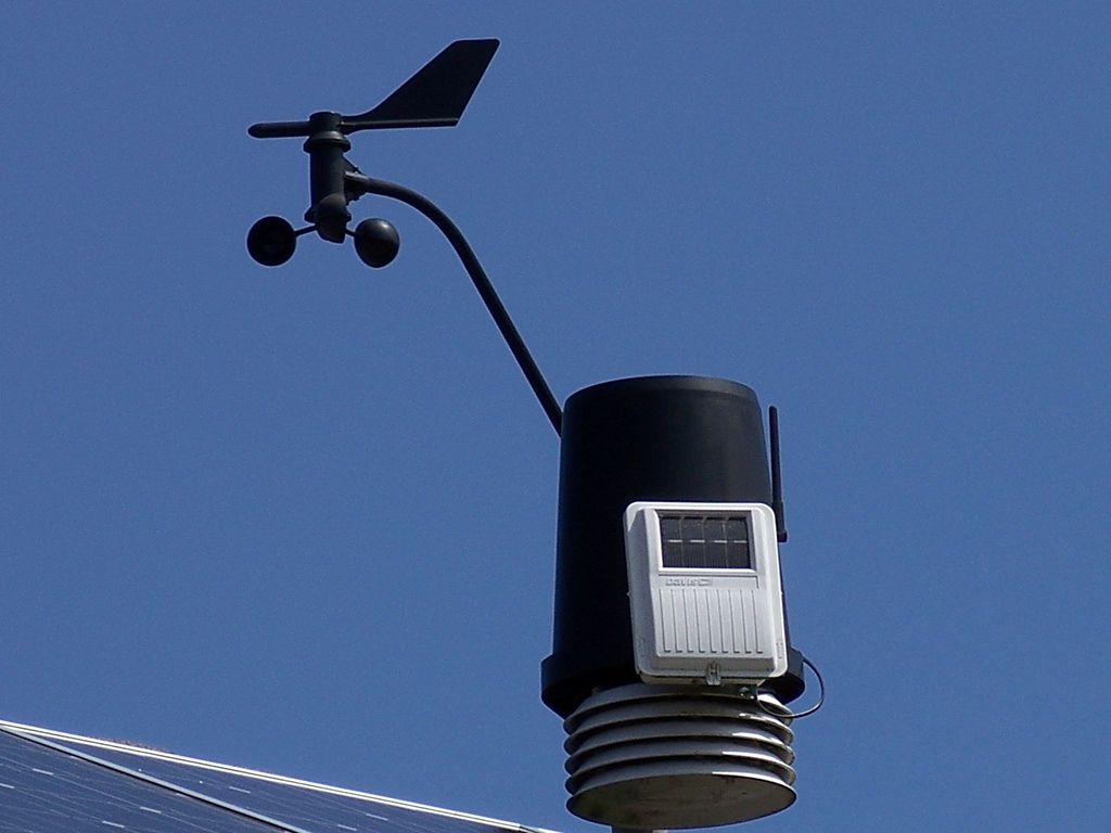 Weather station equipment photo by retromoderns